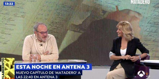 Tito Valverde y Susanna Griso en 'Espejo
