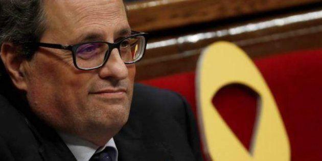 Torra ofrece tres puertos catalanes para acoger a inmigrantes del