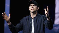 La surrealista razón por la que Ashton Kutcher ha publicado su número de teléfono en