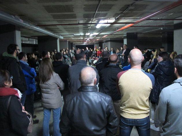 Los inquilinos de Barcelona se plantan ante los 'desahucios