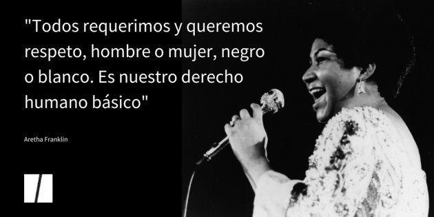 Seis frases que demuestran que Aretha Franklin era un referente