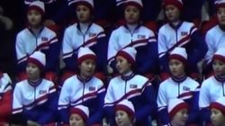 El gesto de una espectadora norcoreana en los JJOO que puede salirle muy