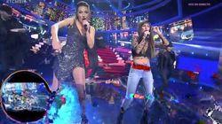 Anna Simón y Cristina Pedroche cantan 'Lo Malo' en 'Tu Cara Me