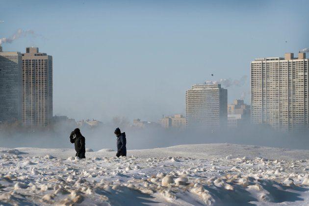 Una ola de frío extremo congela parte de EEUU, ¿es por el cambio