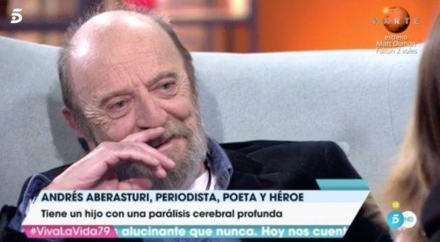 Toñi Moreno rompe a llorar en directo en 'Viva la