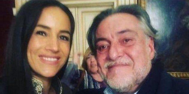 Imagen borrada por Begoña Villacís de su cuenta de Instagram en la que aparecía con Pepu Hernández, precandidato...