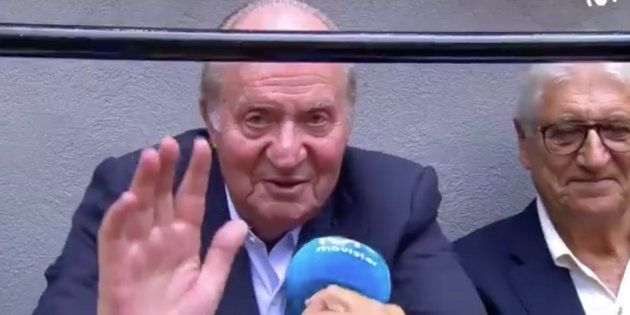 El rey Juan Carlos I: