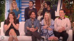 El reencuentro de los actores de 'The Big Bang Theory' acaba de la forma más