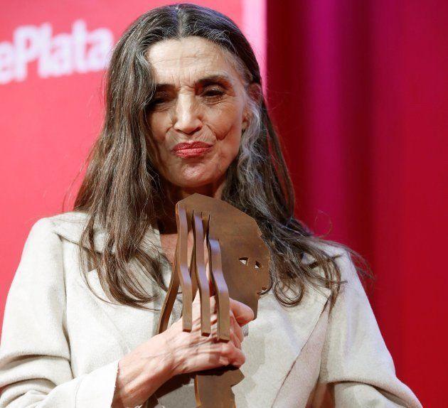 Ángela Molina recibe el premio Especial