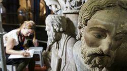 Juzgan a los Franco para que devuelvan las estatuas de Abraham e Isaac de la Catedral de