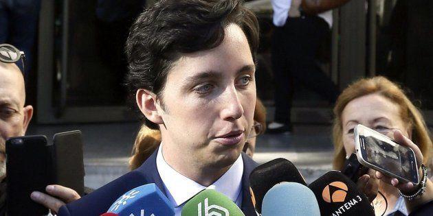 El Pequeño Nicolás habla con los medios antes de una de sus declaraciones