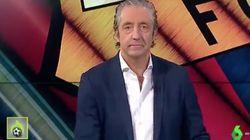 Pedrerol se retracta y reconoce en 'Jugones' de La Sexta su propio