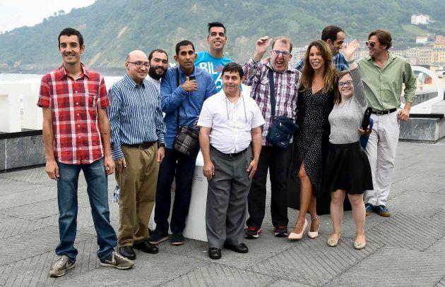 Reparto de 'Campeones' en el 66º Festival de cine de San
