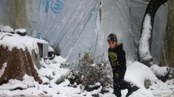 Al menos 32 niños han muerto de frío en un campo de refugiados en