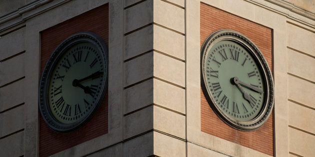 El reloj de la Puerta del