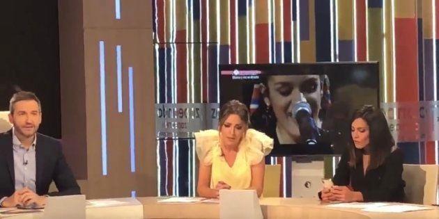 La pillada de Ana Pastor a Anna Simón en pleno directo de