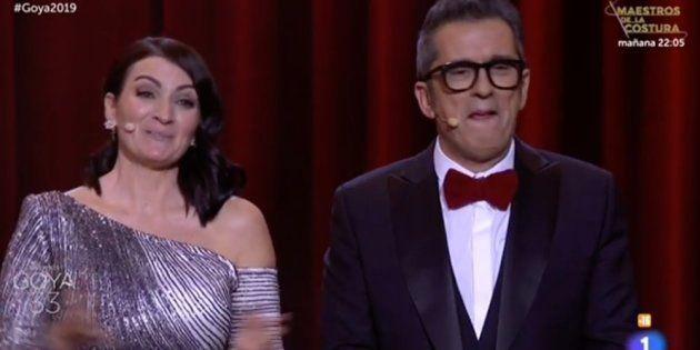 Qué nota le pondrías a Andreu Buenafuente y Silvia Abril como presentadores de los Goya