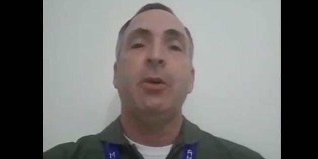 El general de las Fuerzas Aéreas Francisco Estéban Yánez Rodríguez reconoce a Guaidó como presidente...