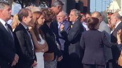 VÍDEO: Encontronazo entre Torra y Albiol en el homenaje de