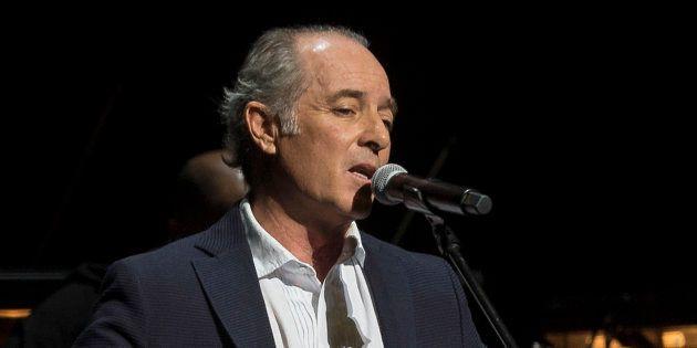 El cantante Jose Manuel