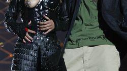 Muchos se acuerdan de Janet Jackson y su pezón al ver lo que hizo Maroon 5 en la Super