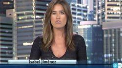 Isabel Jiménez, de Informativos Telecinco, publica su foto de juventud más