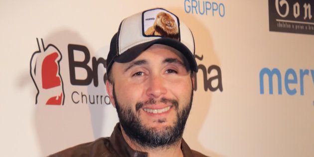 Kiko Rivera durante la presentación de la gira 'Así soy yo' en Sevilla, en abril de