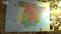 Ni es de los chinos ni es un error: la verdadera historia detrás del mapa de España más
