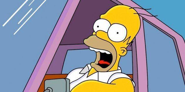 Vas a alucinar con cómo sería Homer Simpson en la vida