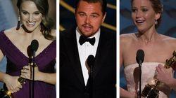 Estos son los discursos 10 de los Oscar más vistos en