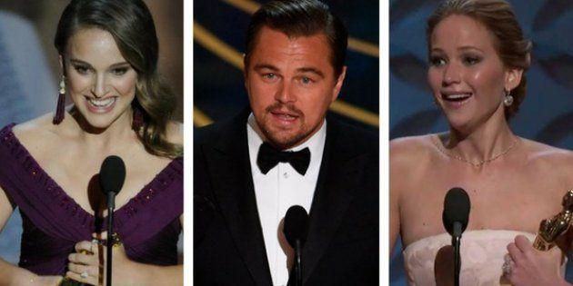Estos son los 10 discursos de los Oscar más vistos en