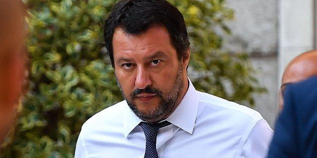 El vicepresidente de Italia, Matteo Salvini, en una imagen de