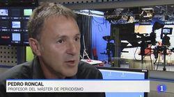 Muere el periodista Pedro Roncal, exdirector del Canal 24 horas de RTVE, a los 54