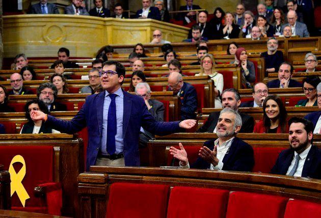Bronca en el Parlament entre Torrent y Ciudadanos por la resolución