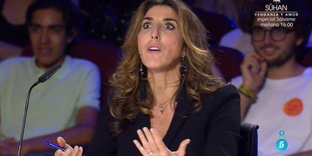 Rifirrafe entre Paz Padilla y Risto en 'Got Talent' (Telecinco) por pedirle a un concursante que se