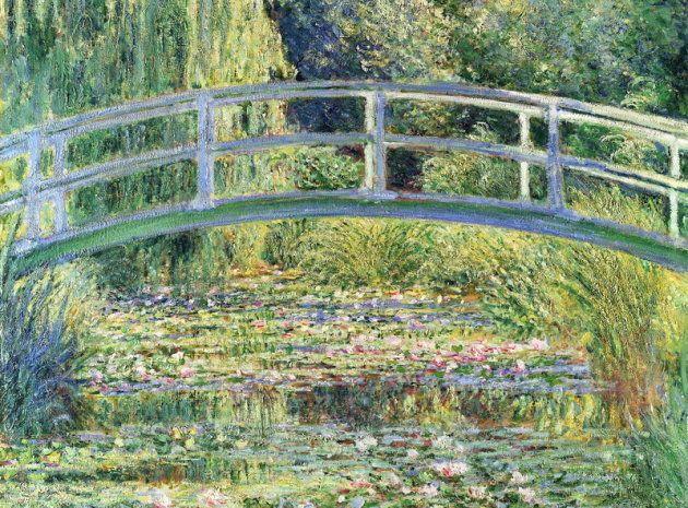 'Puente japonés', de Claude Monet