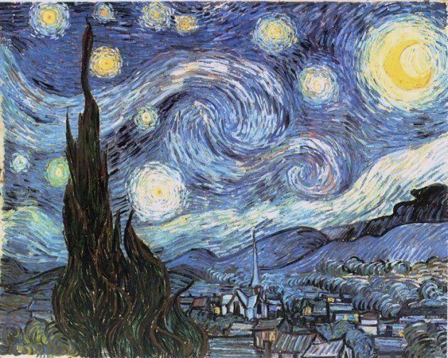 'La noche estrellada', Vincent Van Gogh