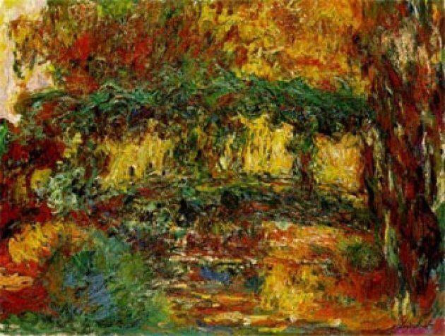 'El puente japonés', de Claude Monet