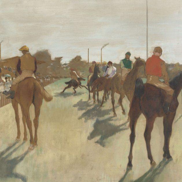 'El desfile', de Eduard Degas
