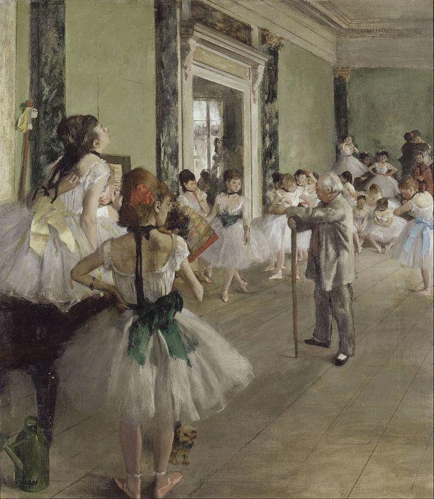 'La clase de ballet', de Eduard Degas