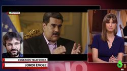 Évole explota en pleno directo en 'El Intermedio' contra quienes criticaron su entrevista a Maduro sin haberla