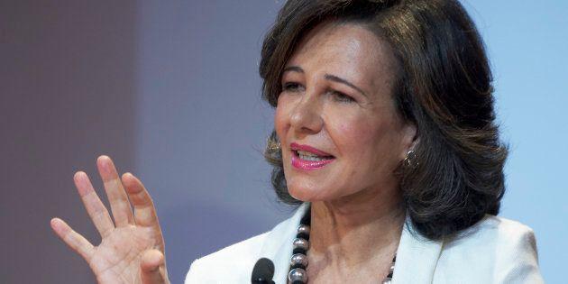La presidenta ejecutiva del Grupo Santander, Ana Botín, en una imagen de