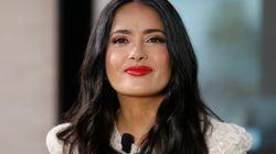 Salma Hayek saca su lado más natural con una foto sin