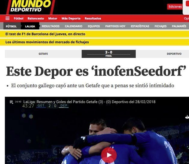 El tronchante titular de 'Mundo Deportivo' del que todos
