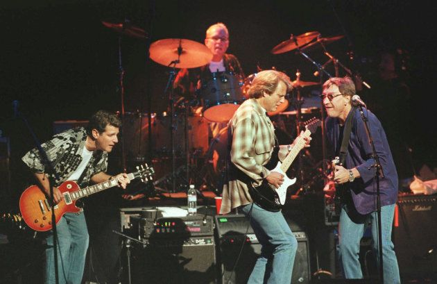 The Eagles en un concierto en Londres en