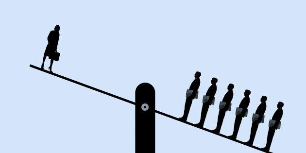 Desigualdades contra las mujeres en el mercado laboral: efecto
