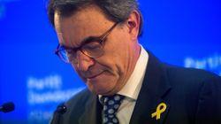 Artur Mas, inhabilitado hasta el 23 de febrero de