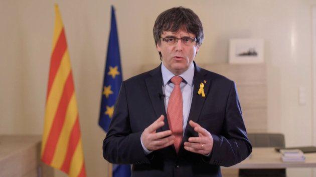 Puigdemont renuncia a presidir la Generalitat y propone a Jordi