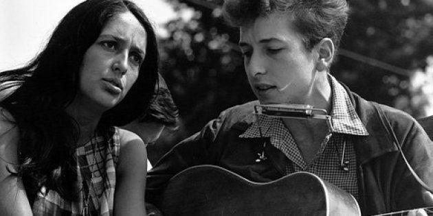 Joan Baez y Bob