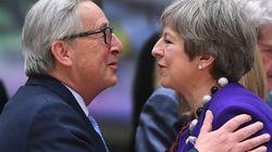 May se reunirá con Juncker en Bruselas el jueves para abordar el